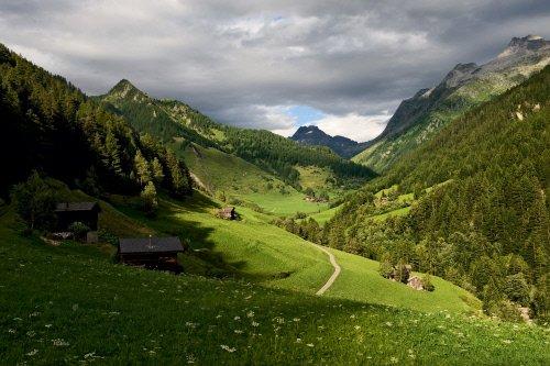 Binn ed il suo Parco Naturale, nel cantone Svizzero dei Valloni