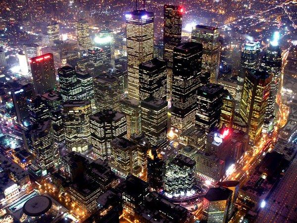 City of lights, un bellissimo city skyline notturno :)