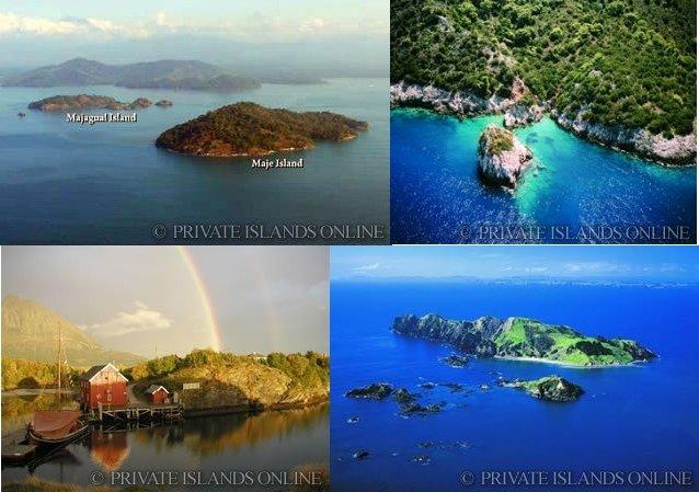 Non solo Grecia, sono centinaia le isole in vendita nel mondo (per tutti i gusti..)