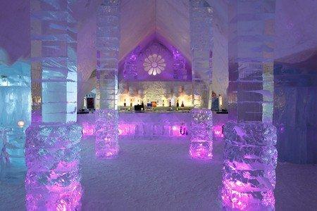 Tutti gli Hotel di ghiaccio al mondo, ecco quello in Quebec, Canada
