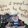 Murales ad Orgosolo, non eroi, ma esempi :)