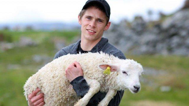 Ecco l'agnellino tra le braccia del suo salvatore