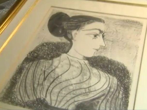 La litografia di Pablo Picasso ritrovata in un bosco!