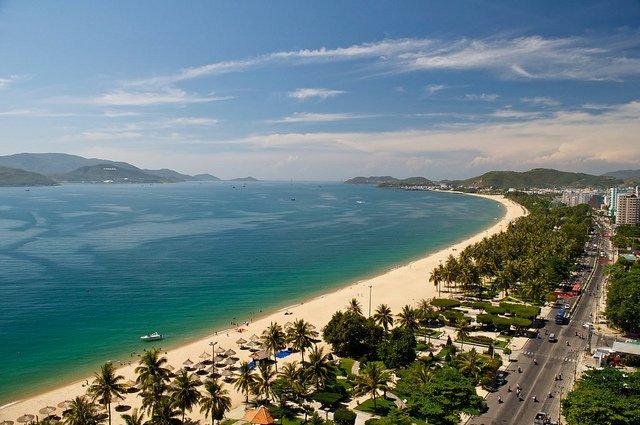 Spiagge a Nah Trang in Vietnam