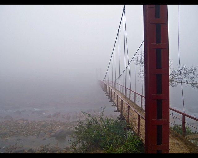 Ponte pedonale in Vietnam