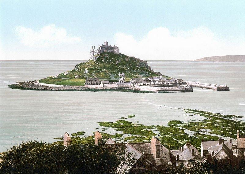 Saint-Michaels-Mount-1900-Inghilterra