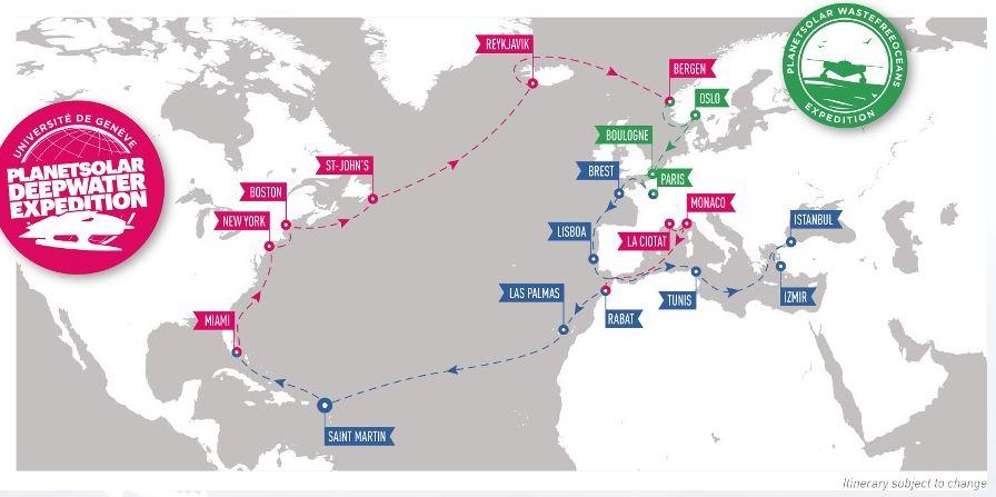 planet-solar-turanor-itinerario-2013