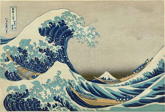Kanagawa-grande-onda-e-monte fuji