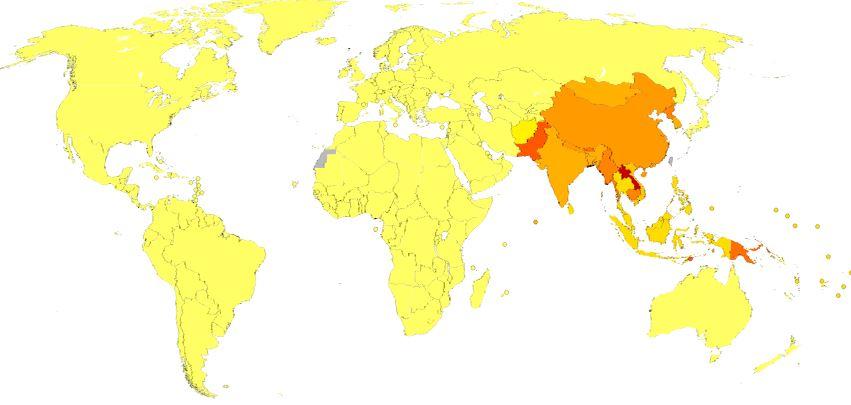 encefalite-giapponese-diffusione-nel-mondo