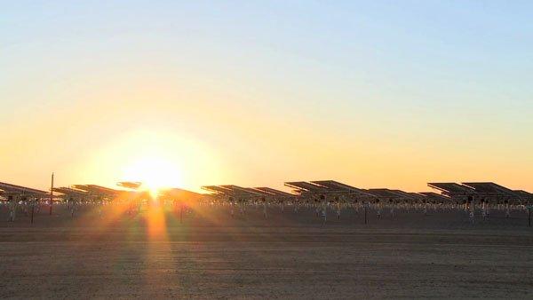 Energia Solare dal Deserto della Tunisia per l'Europa