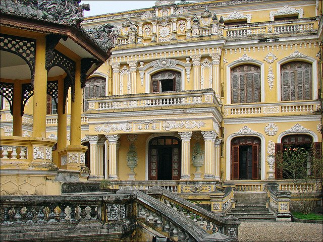 Palazzo di An Dinh a Hué in Vietnam