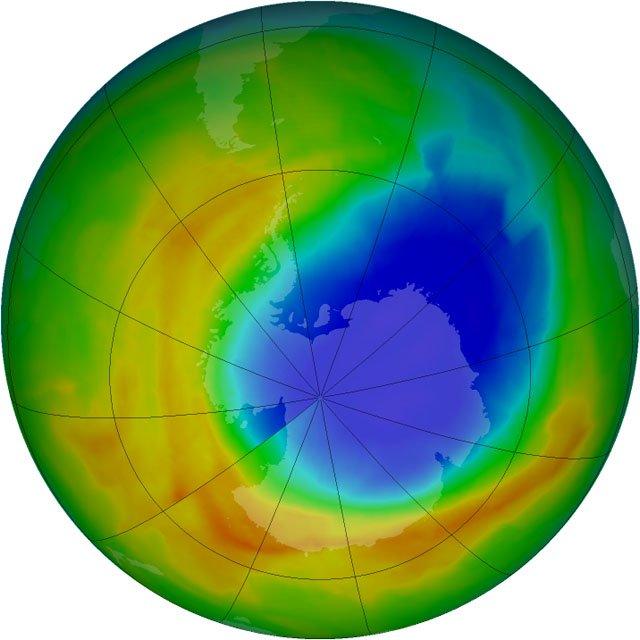 Il Buco dell'ozono sopra l'Antartide si sta richiudendo!